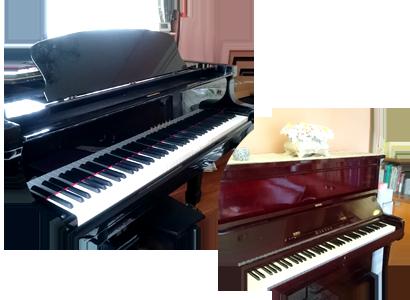 ピアノの種類